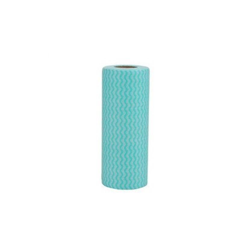 Atacado- 1 Rolo Cozinha Descartável Tecidos Não-Tecidos Lavando Toalhas de Pano de Limpeza Eco Amigável Rags Rags Wiping Pad HD0065 365 R2 NCK3
