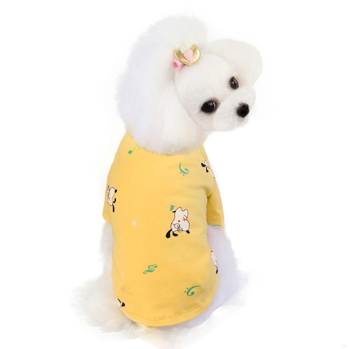 Sublimación reflector en blanco Nylon chaleco para perros mascotas ropa de malla transpirable ajustable camisa creativa camisa de verano TUXEDO Suministros de perro para mascotas Clo