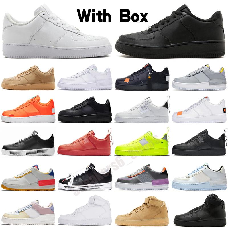 Plate-forme Hommes Femmes Shadow Chaussures Blanc Blanc Blanc Classic Black Skateboard Skateboard Sportent Sports Sports Sports 36-40