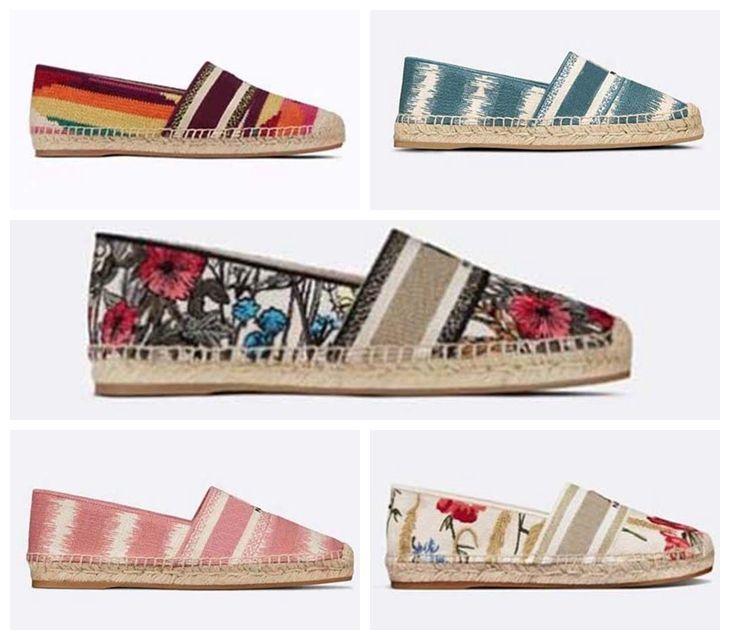 Sapatilhas de marca de luxo sapatos designer sneaker floral brocado de couro genuíno mulheres sapato por home011 16