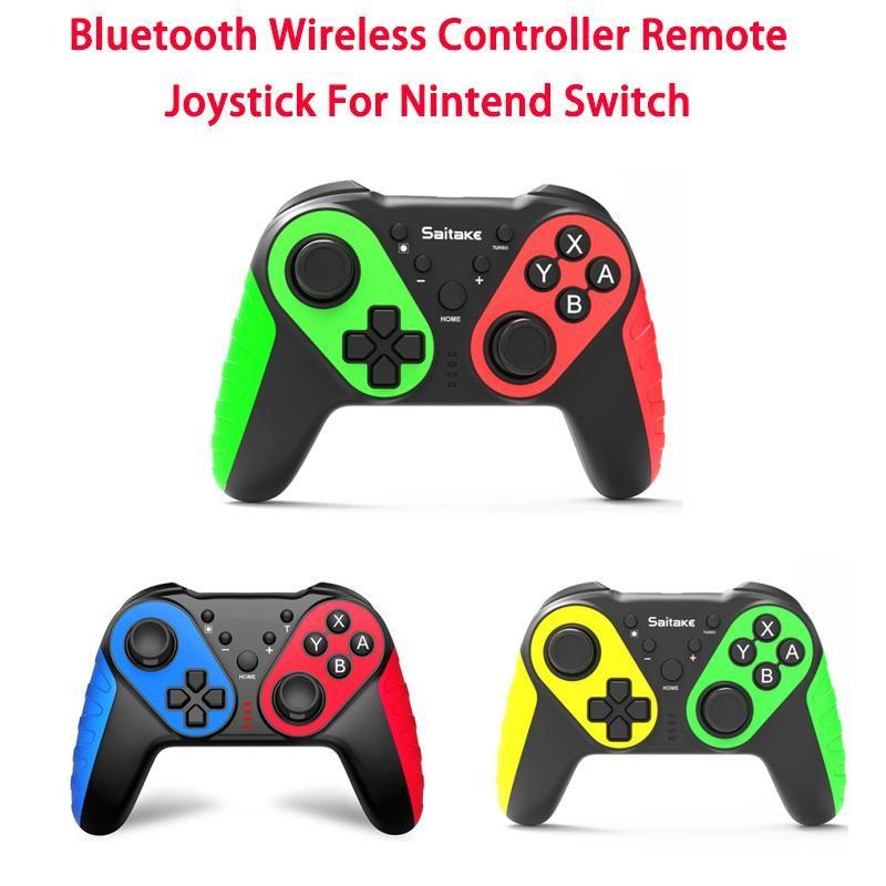 Wireless Bluetooth Gamepad per Switch Pro Prolele Gaming Console Joystick Remote Controller Gamepads Controller di gioco Joysticks