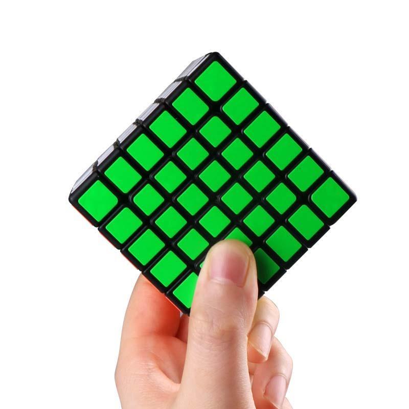 Qiyi Qifan ماجيك سرعة مكعب منشصل 6x6x6 الأسود المنافسة لغز 6x6 ألعاب تعليمية ألعاب تعليمية للأطفال هدية