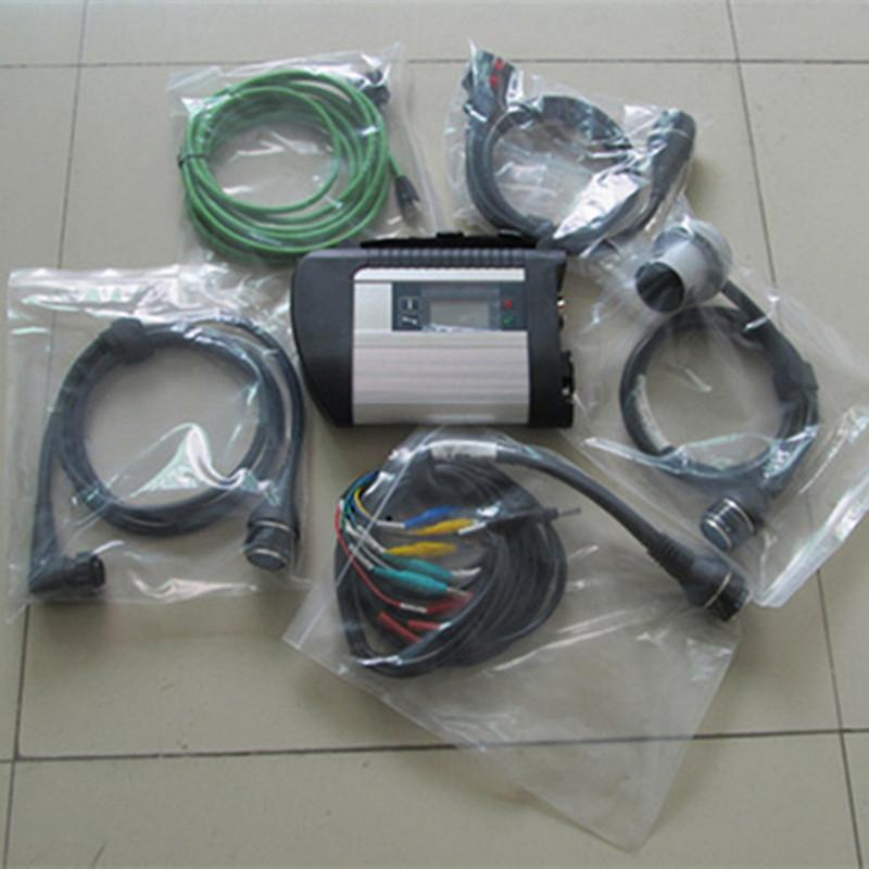 MB STAR C4 SD Connect Car Scanner Tool C4 MUX Diagnostica Full Chip SD Connect Compact 4 Strumento diagnostico