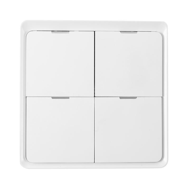 스마트 홈 컨트롤 WiFi 스위치 지능형 4 키 모바일 앱 스틱 무선