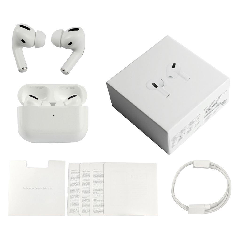 에어 포드 프로 3 Gen AP3 TWS 무선 이어폰 Charging Box가있는 Grade Jieli H1 칩 GPS Bluetooth 헤드폰 이어폰의 이름 바꾸기