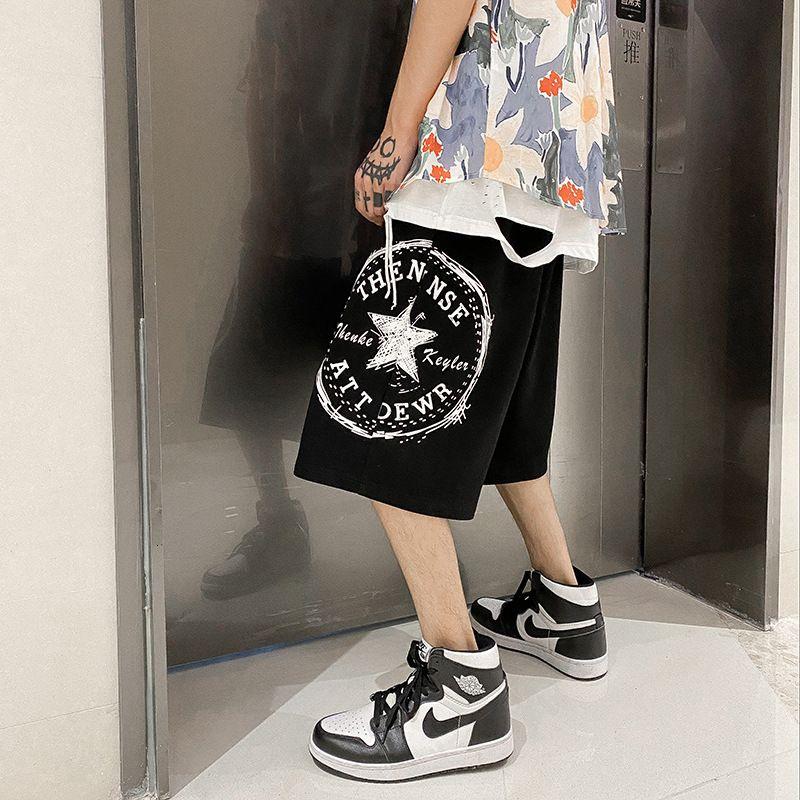 Capris Hip Hop Shorts Fashion Summer Brand Big MARCANTS MORONDANTI AD TREAD VENTATILE Pantaloni casual versatili