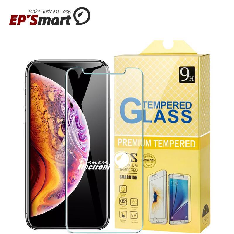 حامي الشاشة الزجاجي حامي الهاتف الخليوي لآيفون 12 ميني 11 برو XR XS ماكس 8 7 زائد سامسونج A50 S7 S6 مقسى Huawei Mate40 20 P40 P20 Lite Paper Paper