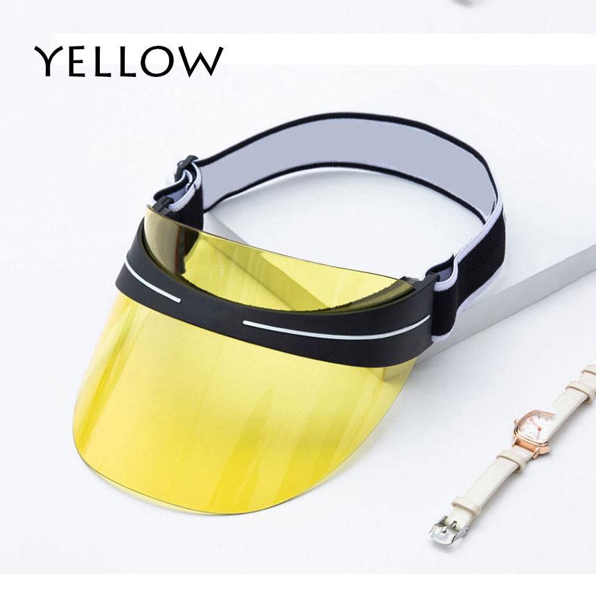 Designer Visor Upgrade Verdickte Marke Sun Hut Sommer Outdoor UV Sonnenbrille Einstellbare Größe 56-62 cm Kein Feld CP001A