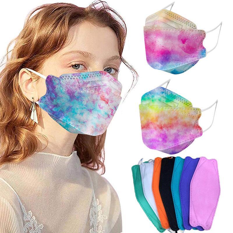 KF94 Maskeleri Toz Geçirmez ve Nefes Alabilir Tüm Yuvarlak Koruma Yüz Maskesi Söğütlü FFP2 KN95 Ağız Kapak