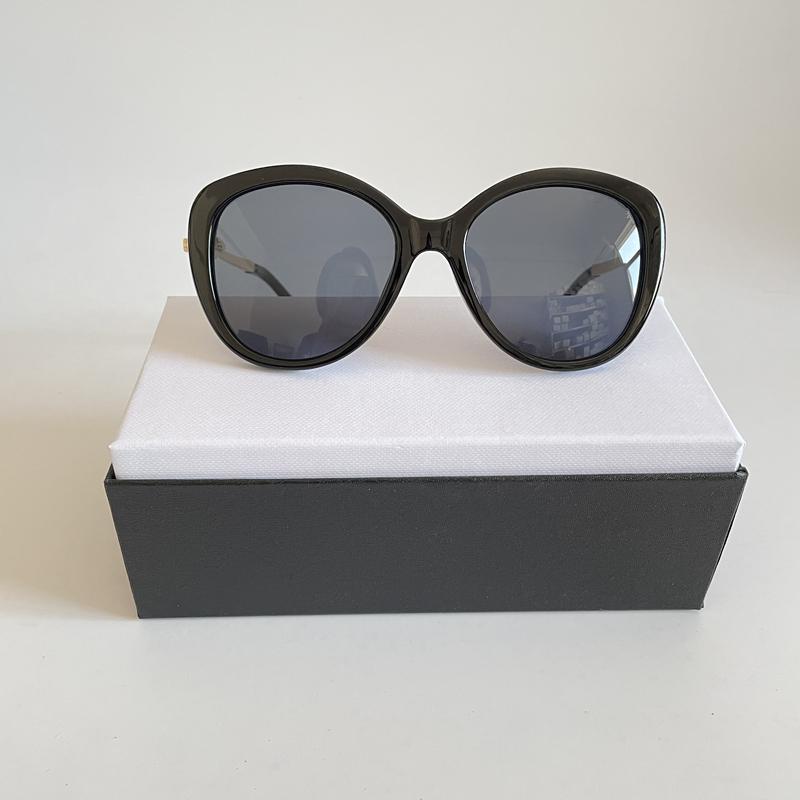 Mode Pearl Designer Sonnenbrille Hohe Qualität Marke Sonnenbrille Katze Augen Metall Rahmen Frauen Eyewear 5 Farbe