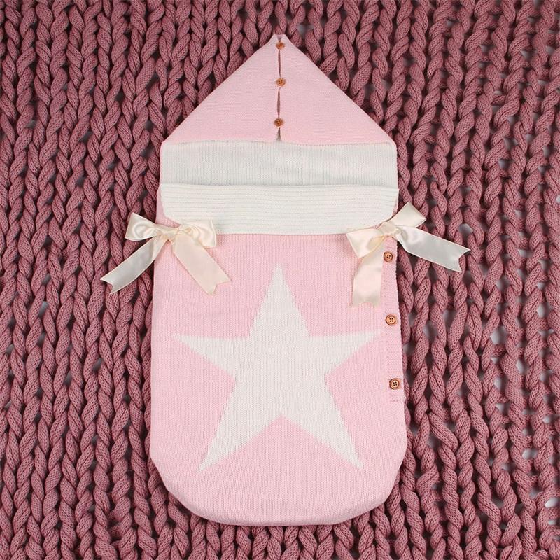 طفل أكياس النوم عربة محبوك مظاريف للأطفال حديثي الولادة الرضع قماط التفاف النوم أكياس خمس نجوم الخريف رمادي الشتاء البطانيات 889 x2