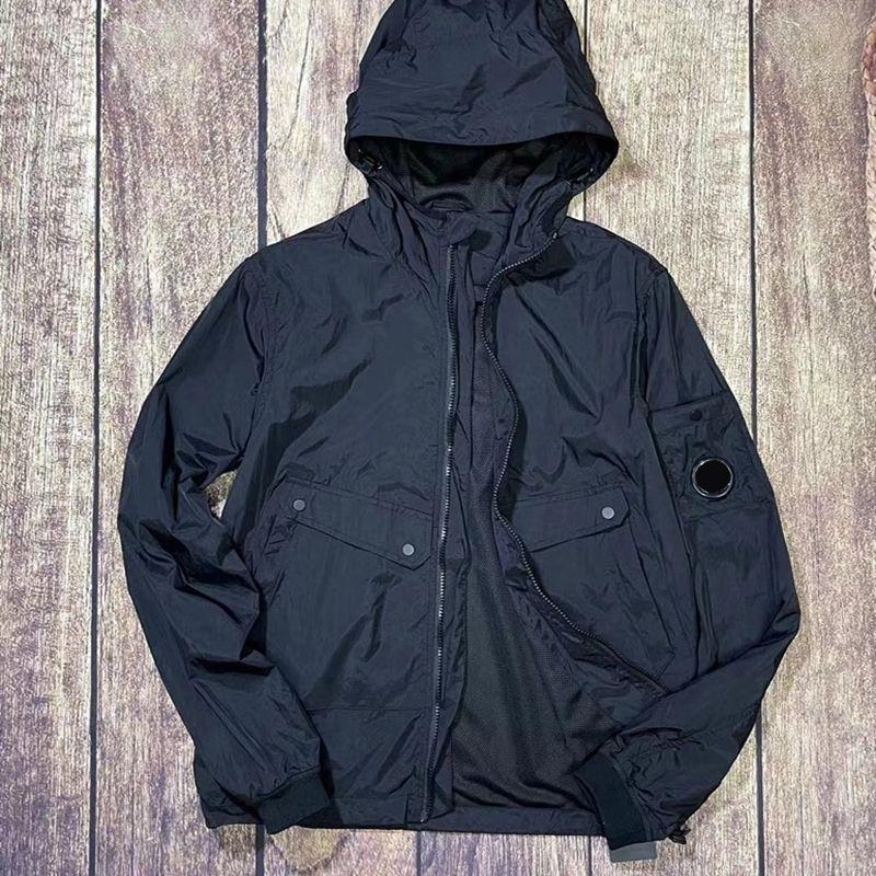 CP TopStoney 2021 объектив сплошной цвет мужская простая куртка на открытом воздухе Настраивая катушкой костюм с длинным рукавом пару пальто с капюшоном пальто
