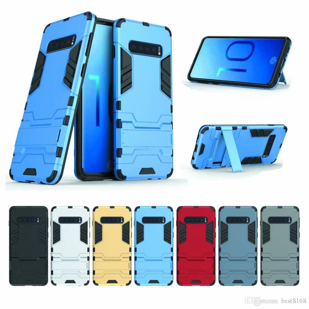 Para Galaxy S10 PLUS S10E Huawei P30 Pro Lite Honra 8A V20 Redmi Nota 7 Caso Híbrido Duplo Híbrido Duro + TPU Defensor Armadura Pesada