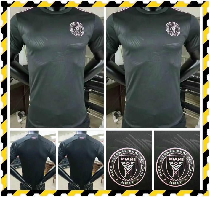 Versão do jogador MLS 2021 Inter Miami Soccer Jersey Edição Especial Rosa Beckham 20 21 Homens Personalizado Casa Fora Futebol Camisa