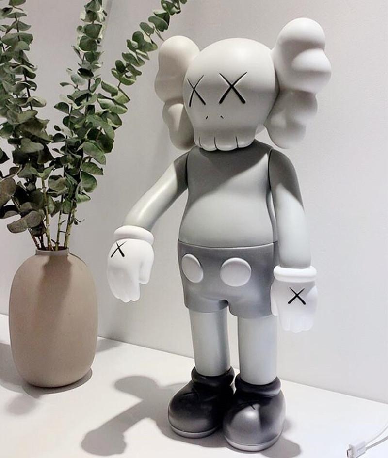 Gelenler 70 cm 5 KG Originalfakte K A W S Prototip Arkadaş Orijinal Kutusu Action Figure Model Süslemeleri Oyuncaklar Hediye