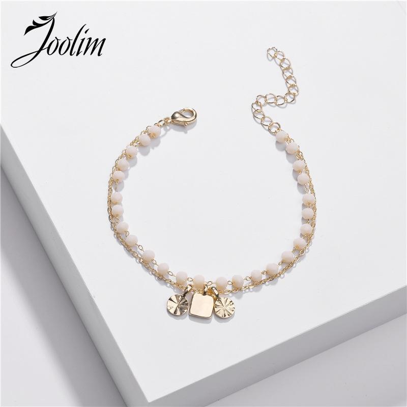 Bracelets de charme Joolim Bead Bracelet Mode Bijoux en gros