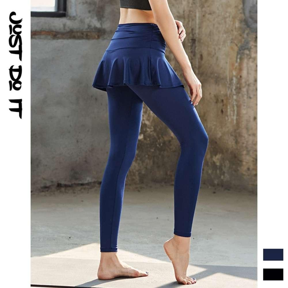 Koreanischer neuer Stil Outdoor-Sport Yoga Hosenrock Slim Stretch Schnelltrocknende Fitnesshose