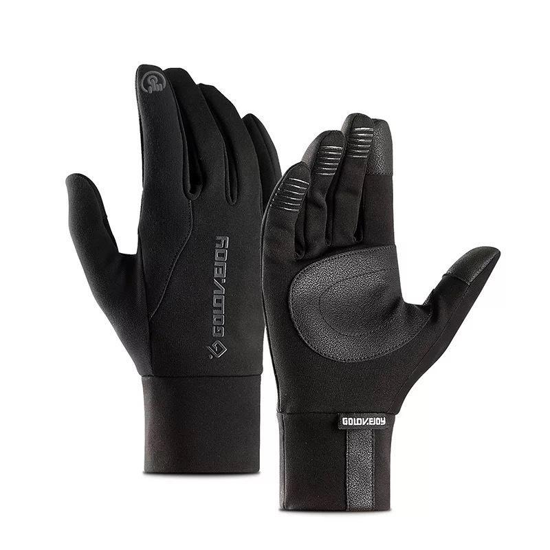 Mens Unisex Lederhandschuhe Touchscreen Thinsulation gefüttert Fantuellen Warme Handschuhe Winter Halten Sie warme Fäustlinge männlich 210420