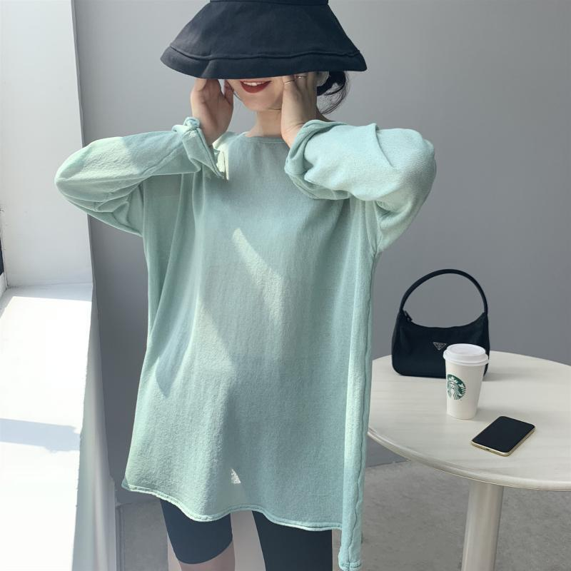 Women Sweater And Pullovers O-Neck Thin Knitted Summer Long Sleeve Femme Tricot Pull Women's Sweaters