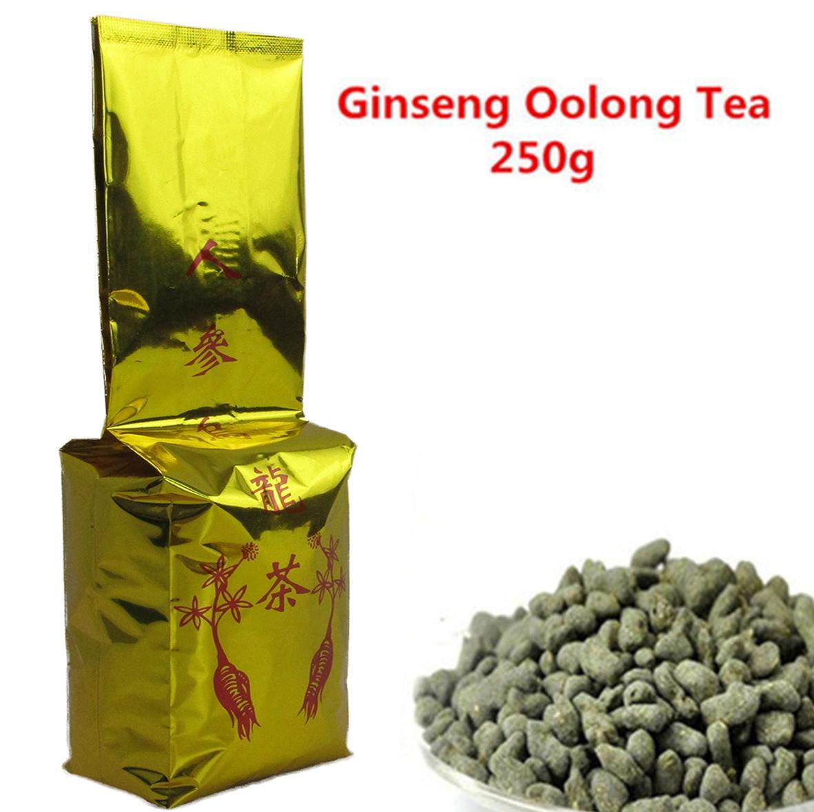 250g Chinois Organic Tea Oolong Top Greal Ginseng Oolong Beauté naturelle Thé vert Nouveau Spring Thé Vert Food préféré