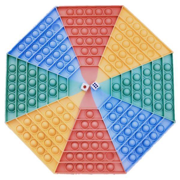 DHL Dekompression Zappeln Spielzeug Riesiges Schachbrett Runde große Blasen mit Buchstaben Großhandelskinder Angstrelief