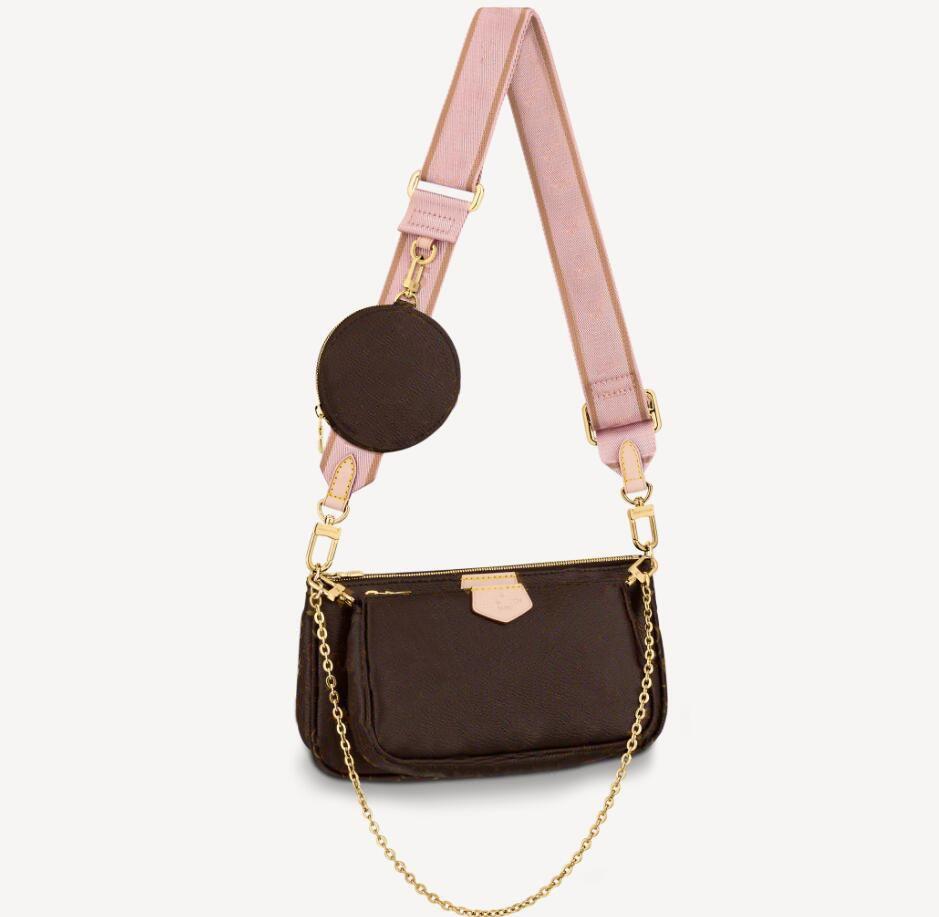 Женская сумка Новая классическая классическая мода мода дам роскошь дизайнерская сумка плечо сумка высокая качественная сумка напечатана 3-х частями набор