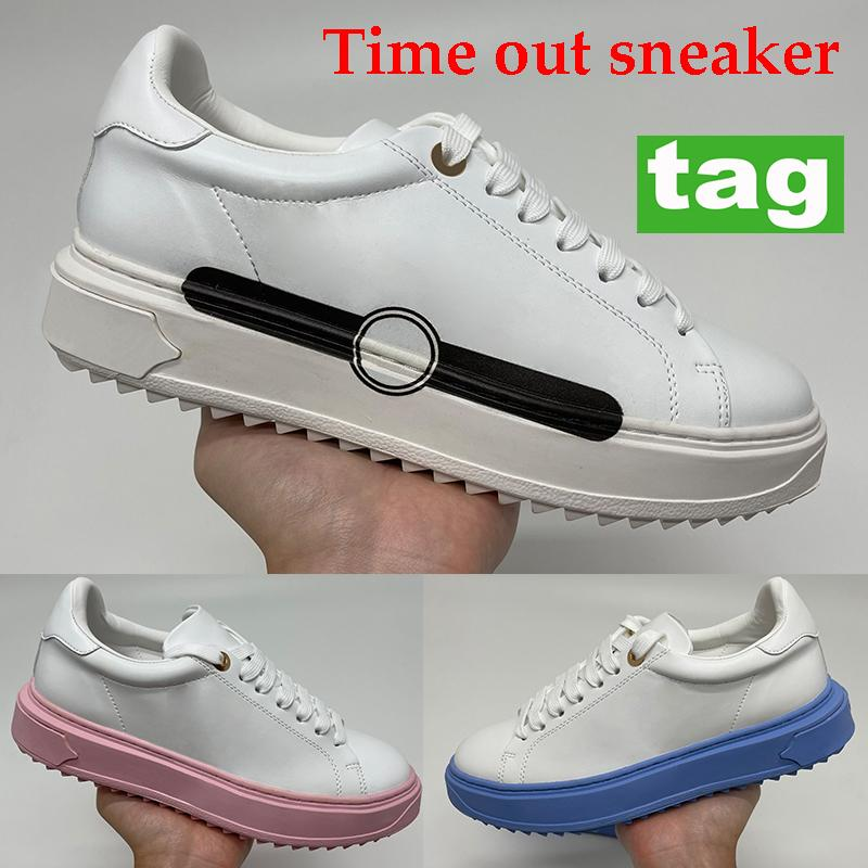 Newest Time Out Sneaker Casual Shoes Shoes University Blue Pink Blanco Negro Impresión Party Shoe Shoe Platform Sneakers 35-40