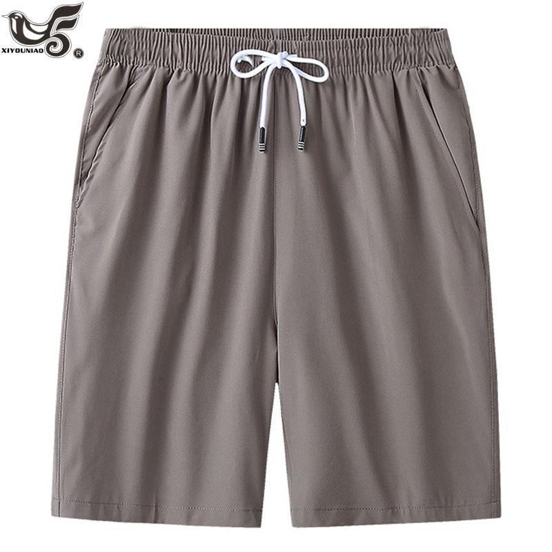 Pantalones cortos casuales para hombres 7xl 8xl verano para hombre playa aptitud aptitud joggering correr deportes entrenamiento homme ropa