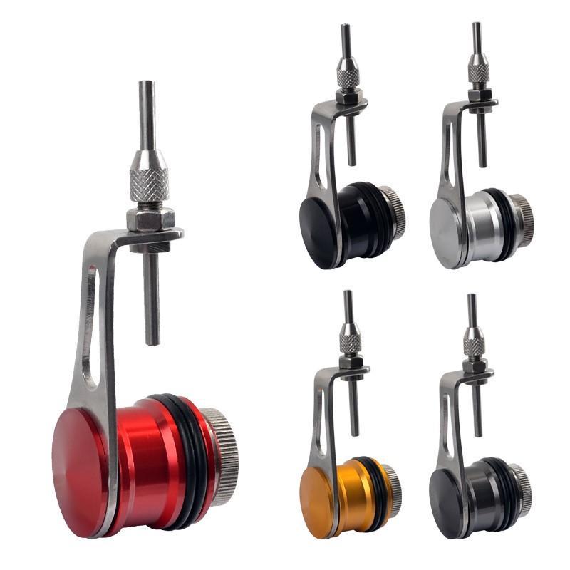 1 pc portátil de pesca prática bobina knotter fg gt rp fio linha knotting ferramenta conector de cabo de pesca máquina de enrolador 330 Z2