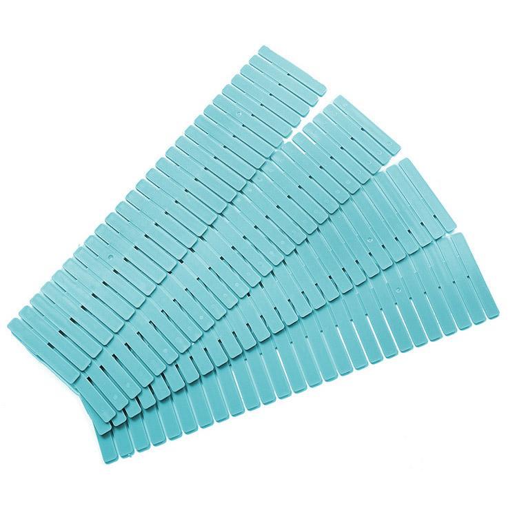 4pcs/Set DIY Drawer Divider Household Storage Organizer Partition Board for Socks Underwear Organize the grid Drawer partition