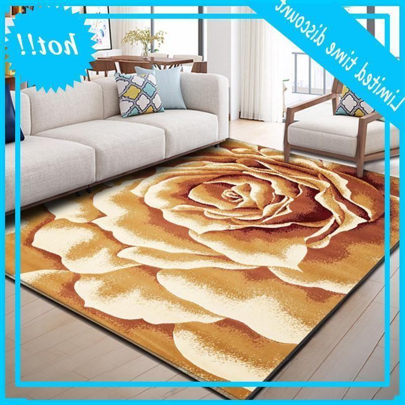 Flower And plants carpets For living room modern Home sofa coffee table carpet bedroom full bedside Decor Rugs Bath Non-slip Mat