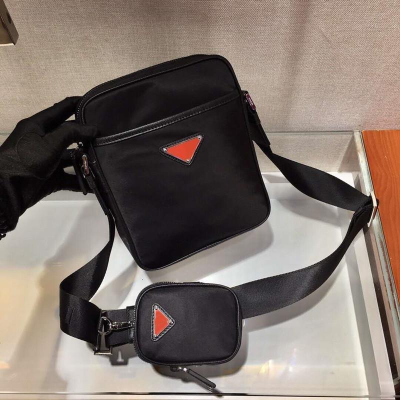 New Messenger Mens Moda Cross-Body Haxsu Nylon Designer Bolsa Bolsa Para Bolsas Luxo à prova de água TKSWB