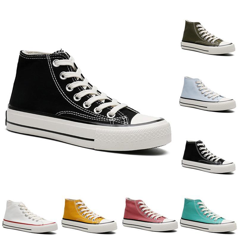 Высокое качество Casuasl Hanvas Shoes Мужские Женщины Платформа Повседневные Тренеры Открытый Мужская Женская Мода Беги Спортивные кроссовки Размеры 36-44
