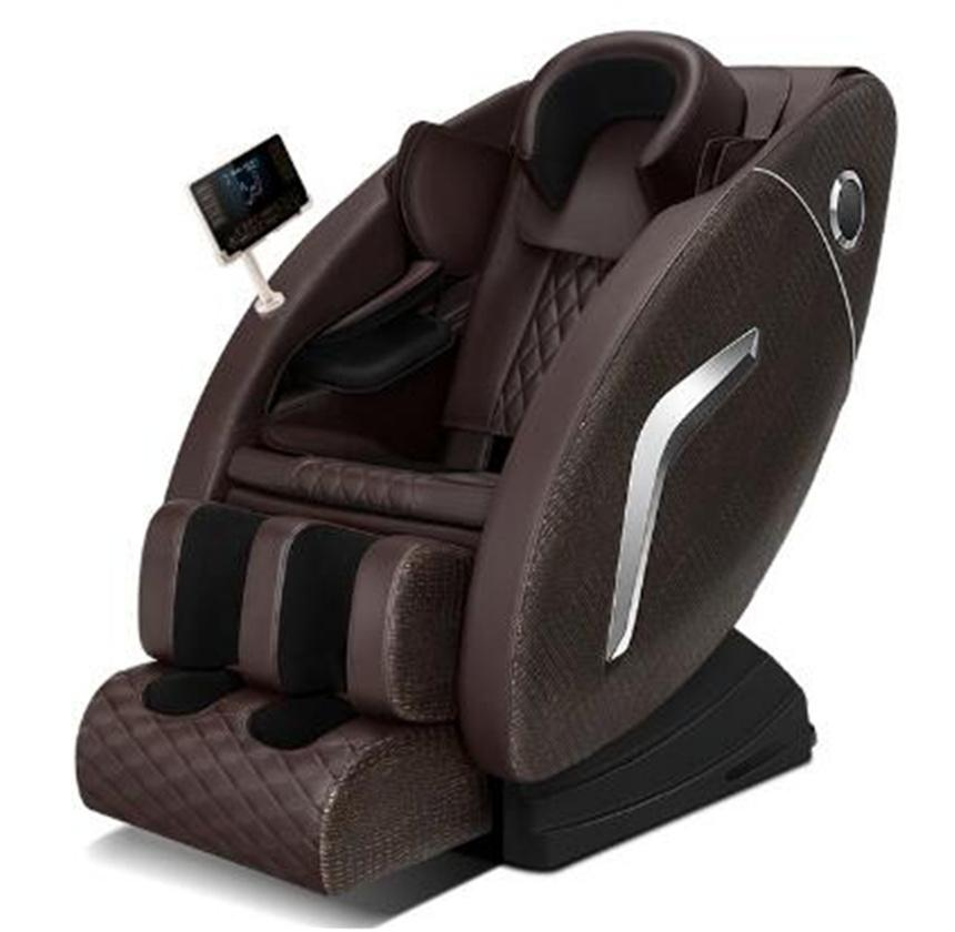 2021 Luxury Massage Chair Automatic Shiatsu Kneading Ball Design Electric Zero Gravity Heated Home Body Care 4D R5-2C chairs
