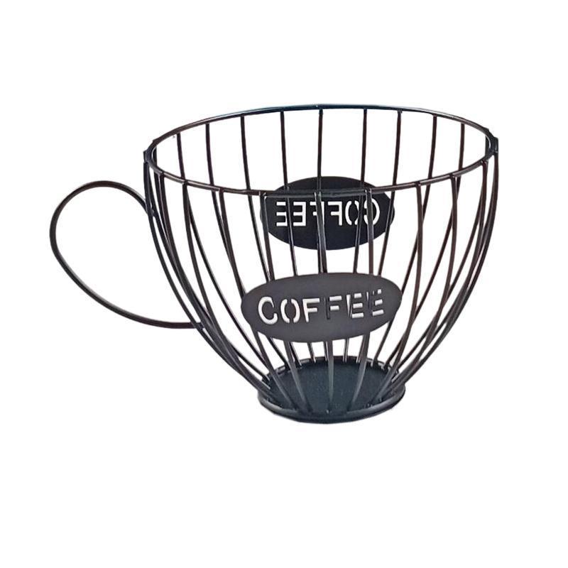 Ausgehöhlter Kaffee-Lagerkorb-Tasse für Heimkörbe geformt