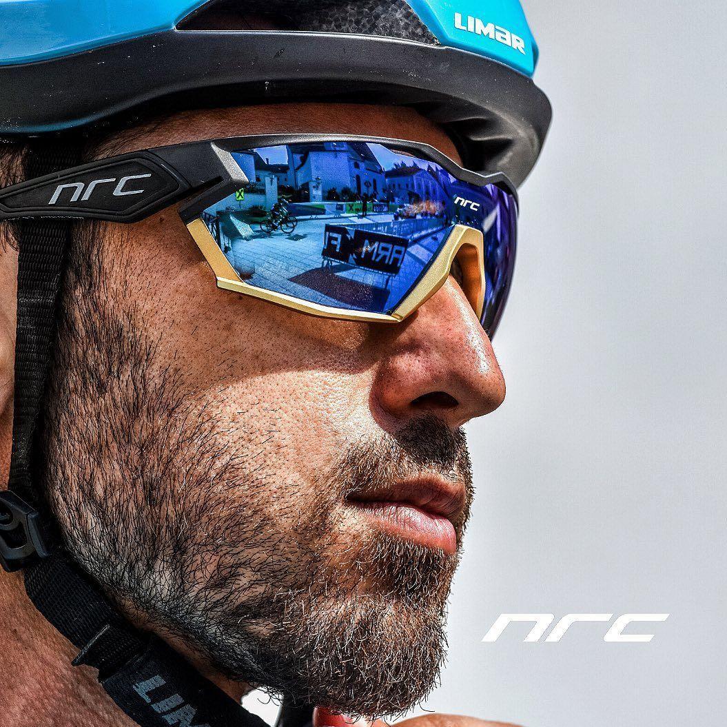 2021 NRC P-RITE Photochromic 사이클링 안경 남자 마운틴 자전거 자전거 스포츠 사이클링 선글라스 MTB 사이클링 아이웨어 여성
