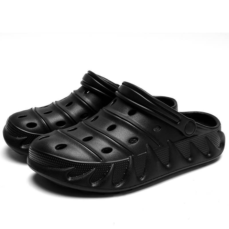 النعال في الهواء الطلق الرياضية اثنين ارتداء أحذية الكهف الصيف المد لتطابق الصنادل الشاطئ تنفس التراجع الرجال والنساء