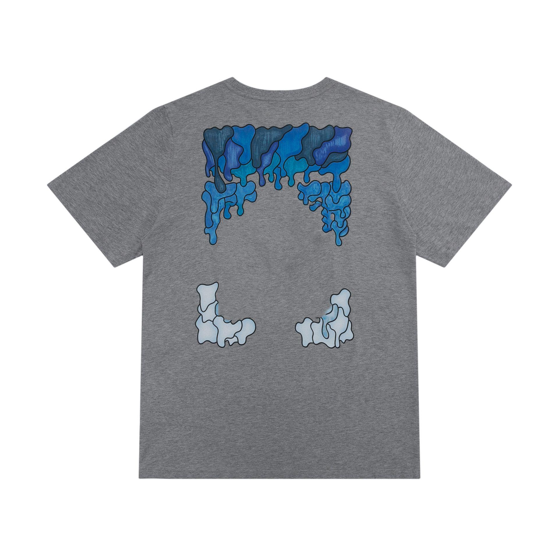 OFF 디자이너 크로스 패션 Dissolve 화살표 인쇄 반팔 T 셔츠 남성 탑 티 티셔츠 캐주얼 여성 티셔츠 X 인쇄 여름 탑스 EU 크기