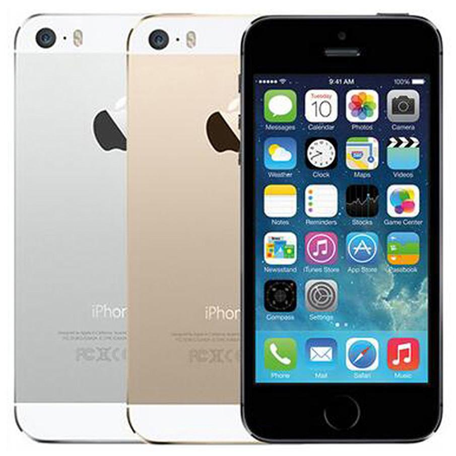 Original Refurbished Apple iPhone 5S With Fingerprint 4.0 inch 1GB RAM 16GB/32GB/64GB Dual Core IOS A7 8.0MP Unlocked 4G LTE Smart Phone Wholesale Free DHL 5pcs
