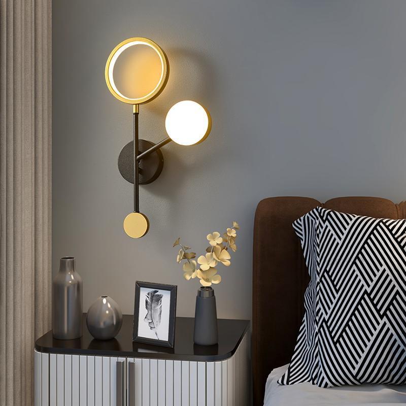 거실에 대한 조명 현대 샹들리에 천장 침대 옆 벽 램프 장식 장식 매일 조명 램프