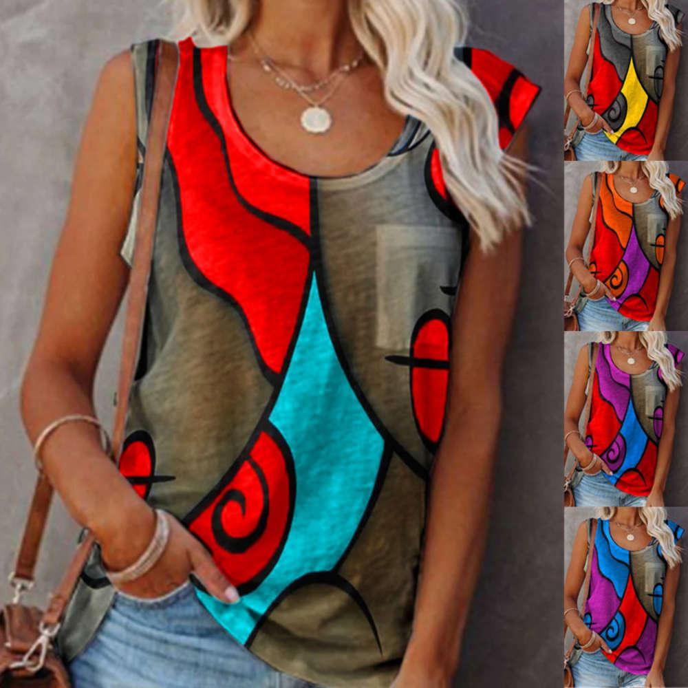 Tanks Casual Mundless Color Adjustment T-Shirt Tops Mode Sexy Plus Size Weste Frauen Sommer Hemd Kleidung