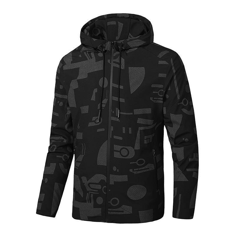 Jaquetas masculinas 2021 Outono Homens Casaco Casual Outwear Casaco Top Blobebra Hoodies Moda Streetwear Roupas de marca Plus Size L-8XL