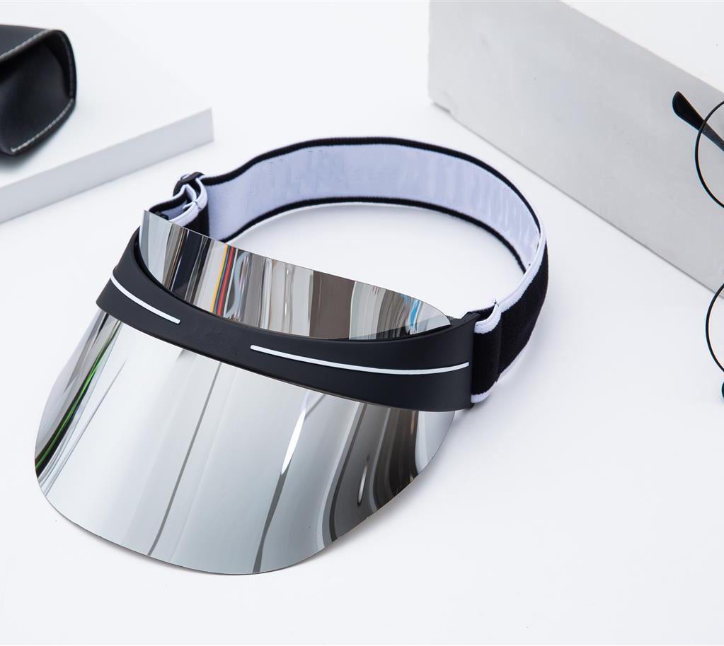 Luxushut Designer Caps Dazzle PC Objektiv Hüte Mode Männer und Frauen Outdoor Tennis Sun Cap Einstellbare Größe 52-62
