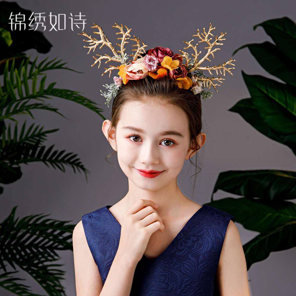 Kinder Halloween Kopfschmuck Ostern Geweih Hairband Weihnachten Elk Haarband Erwachsene Foto Kopfband Stirnband anzeigen