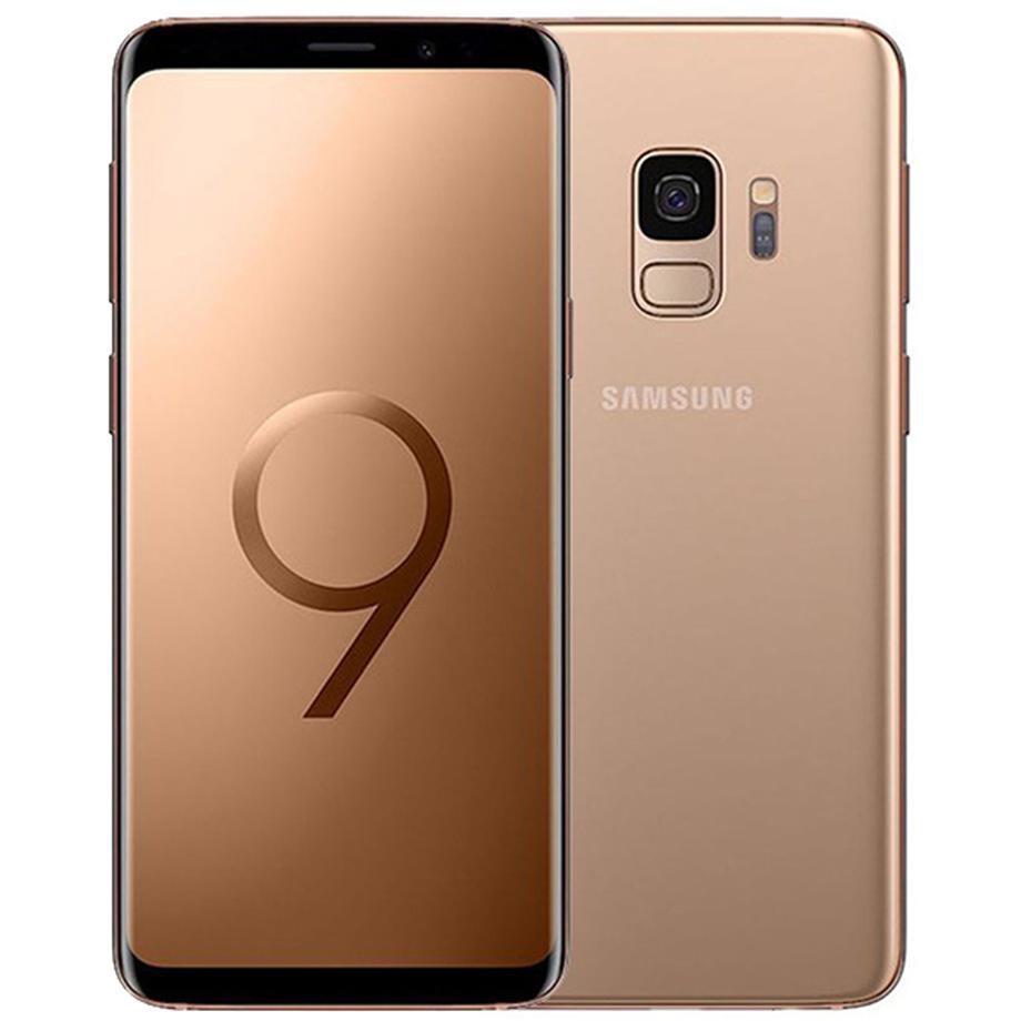 Original Refurbished Samsung Galaxy S9 G960F G960U 5.8 inch Octa Core 4GB RAM 64GB ROM 12MP Unlocked 4G LTE Android Smart phone DHL 30pcs
