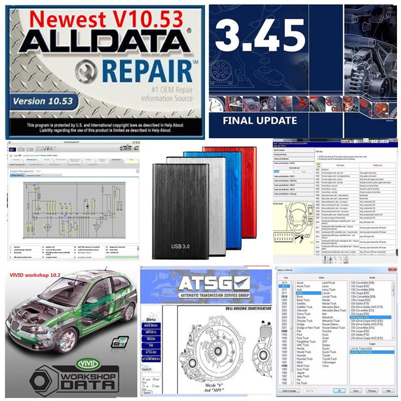 AllData Todos os dados 10.53 mi ... Ell OD 2015 Workshop Vivid Atsg El ... In6.0 Manager Plus 49 IN1TB HDD