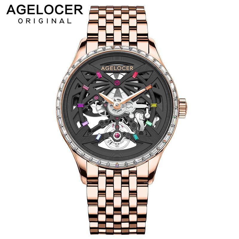 Schweizer Uhren Männer Top Marke Saphir Mechanische Schwarz Diamant Golduhr Wasserdicht 41mm für Reloj Hombre Armbanduhren