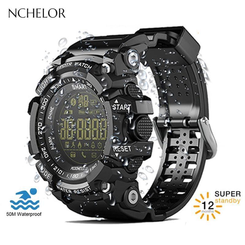 Наручные часы 2021 Smart Men Watch Watch Поддержка активности трекера монитор сна EX16 часы для калорий расчет спортивные цифровые часы