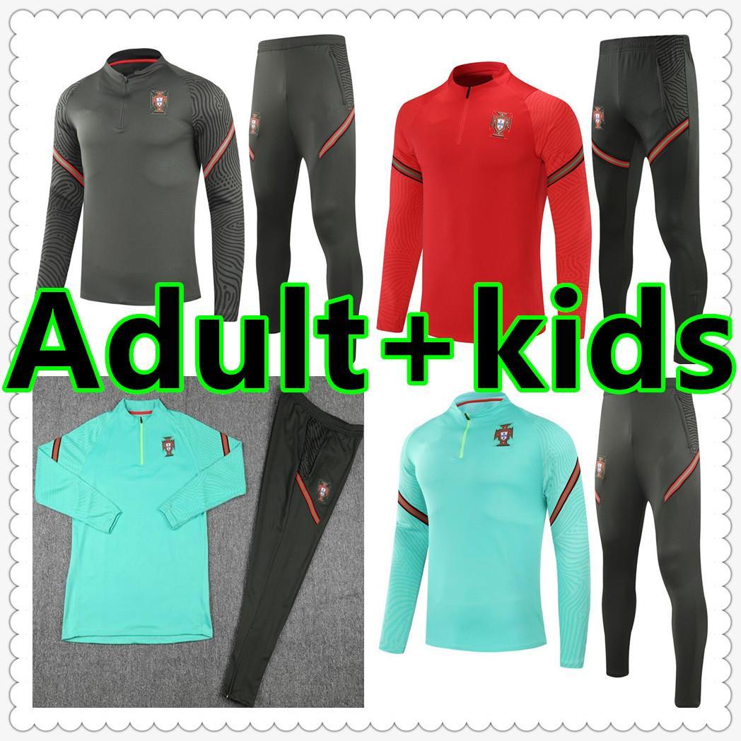 Erkekler + Çocuklar Kiti Setleri Ruben Neves Bernardo Cancelo Bruno Fernandes 20 21 22 Üniforma Futbol Eşofman Futbol Formaları