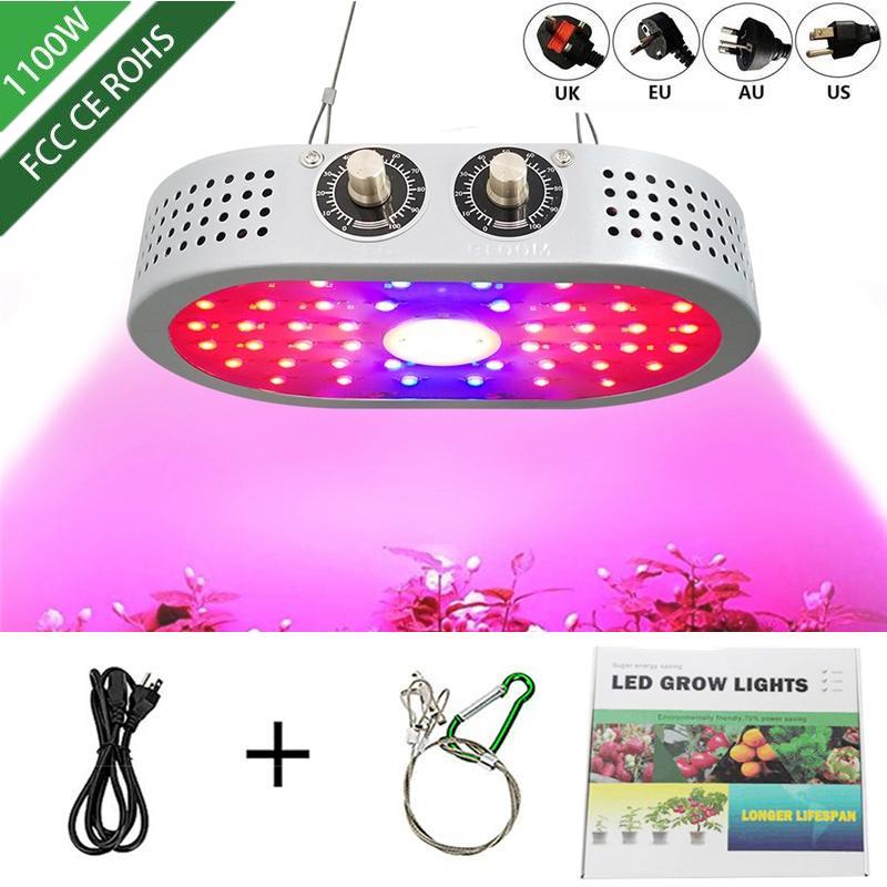 1100W LED 성장 빛 Phyto AC85V-265V 램프 실내 묘목 텐트 온실 꽃 FITOLAMP 식물 램프에 대 한 전체 스펙트럼 조명